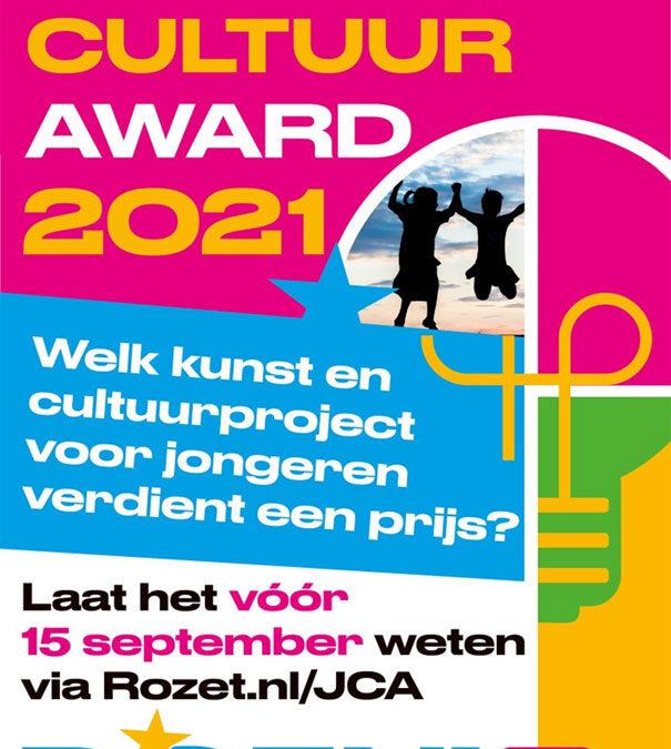 Jeugd Cultuur Award: winnen om te stralen!